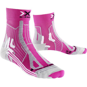X-Socks W's Trail Run Energy Socks Pink/Pearl Grey